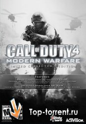 Call Of Duty 4: Modern Warfare (v 1.7.586)/PC(Repack)