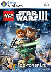 LEGO Star Wars 3: The Clone Wars (RUS/ENG) (L)