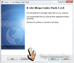 K-Lite Codec Pack 7.2.0 Mega