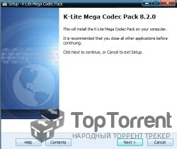 K-Lite Codec Pack 8.2.0 Mega (2012)