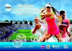 Теннис. AEGON International 2012. 1-й круг. Екатерина Макарова - Петра Квитова (2012)