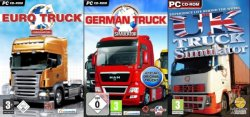 Truck Simulator Collection [Euro Truck, German Truck, UK Truck]