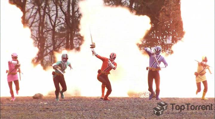 1 -й сезон сериала, могучие рейнджеры, самураи