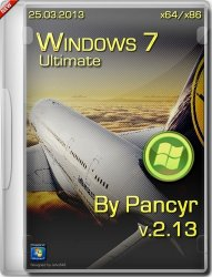 Windows 7 Ultimate SP1 by Pancyr (x86+x64) (25 ����� 2013)