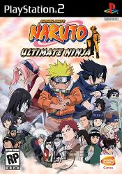 Naruto: Ultimate Ninja (2006) PS2