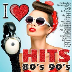 VA - I Love Hits 80's 90's (2015)