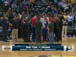 Баскетбол. NBA RS: New York Knicks @ Indiana Pacers (29 января 2015)