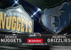 Баскетбол. NBA RS: Denver Nuggets @ Memphis Grizzlies (29 января 2015)