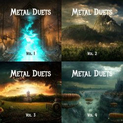 VA - Metal Duets Vol. 1-4 (2015)