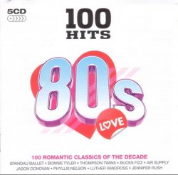 VA - 100 Hits - 80s Love (2007)