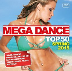 VA - Mega Dance Top 50 Spring 2015 [2CD] (2015)