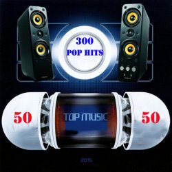 VA - Top 300 Pop Hits 50x50 (2015)